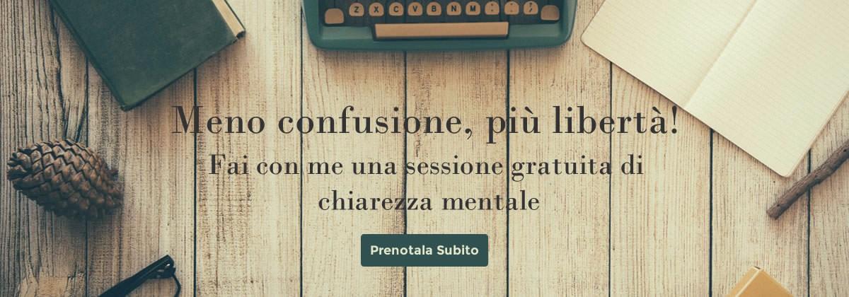 Sessione gratuita Chiara Grandin life coach