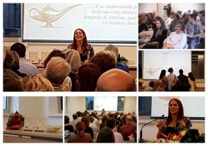 presentazione libro 3 settimane con il genio Chiara Grandin