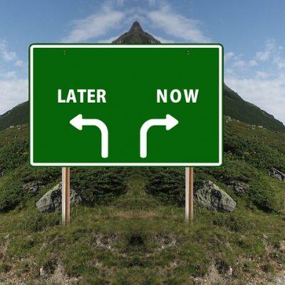 I veri vantaggi del procrastinare
